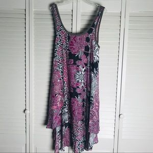 Free People Rayon floral dress.